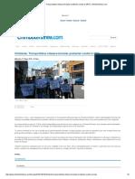 Chimbote_ Transportistas Interprovinciales Protestan Contra La MPS _ Chimbotenlinea.com