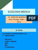 Ecología CLASE 10 Agua