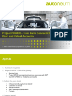 Project POWER – From Bank Connectivity to in-House Cash and Virtual Accounts Presentation