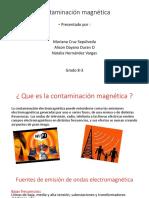 Contaminación magnética