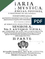 02. Antonio Vieira. Maria Rosa Mystica, 1686 (Sermão XXVII)