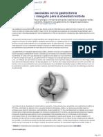 Complicaciones Asociadas Con La Gastrectomia Laparoscopica en Manguito Para La Obesidad Morbida