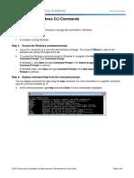6.1.5.4 Lab - Common Windows CLI Commands