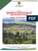 Manual de Organizacion Casa Cumbal