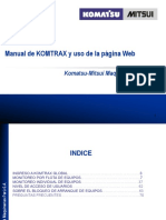 Manual Komtrax Web CU