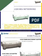 Av200 Mdu Presentation