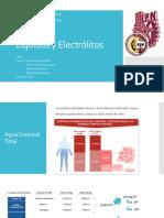 Líquidos y  Alteraciones Electróliticas