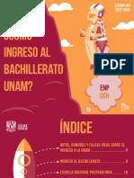 Folleto Como Ingreso Al Bach UNAM 2017
