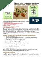 Natural Flea Control Information for PDF