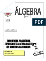 ALGEBRA - 1° GRADO