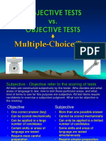 LT F Subjective Objective Tests
