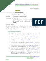 Informe Nºxxx - Lev. de Observaciones