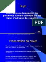 PFE_Présentation MASTERFOODS