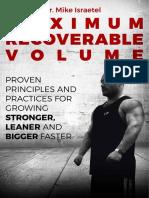 Mike Israetel - Maximum Recoverable Volume eBook.pdf