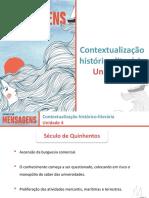 Contextualização Histórico-literária - Unidade 4