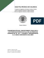 García Kabbabe, L. Parametrización Del Comportamiento Vinculado a Los Modos de Fallo Presas de Ho
