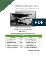 Informe Preliminar Diseño Preliminar de Graderías de Estadio