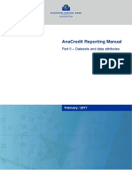 AnaCredit Manual Part II Datasets and Data Attributes.en