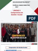 UNIDAD 3 Compromisos de Gestión Escolar Copia