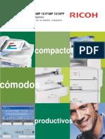 Ricoh Aficio Mp161spf Especificaciones Tecnicas