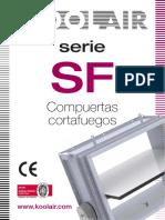 KOOL AIR - Dampers Corta Fuego Serie_SF_es