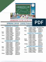 Nssc All Chemistry Asa Tutoring Spring 2018