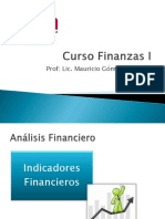 III- Razones Financieras