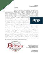 Campamento de Beltane Carta de Invitacion