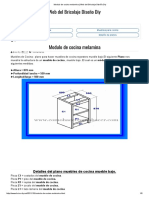 Modulo de Cocina Melamina _ Web Del Bricolaje Diseño Diy