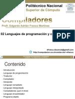 02 Lenguajes de Programacion y Compiladores