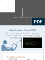 Systems Development Life Cycle II