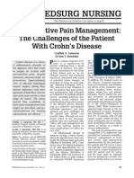 Post Operative Pain Mgmt