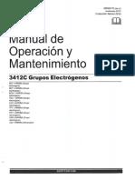 Manual de Operación y Mantenimiento CAT 3412C