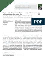 Recursos, Protección y El Reciclaje(Biogas)Ingles