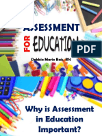 Assessment for Education Adv