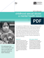 Childhood Sexual Abuse a Mental Health Issue Opt