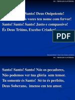 011 - Santo! Santo! Santo! Deus Onipotente!.ppt