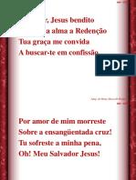 069 - Salvador, Jesus bendito.ppt