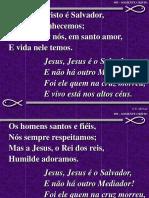 095 - Somente Cristo é Salvador.ppt