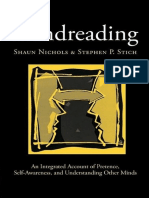 (Oxford Cognitive Science) Shaun Nichols, Stephen P. Stich-Mindreading_ an Integrated Account of Pretence, Self-Awareness, And Understanding Other Minds (Oxford Cognitive Science)-Oxford University Pr