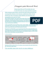 Menampilkan Penggaris Pada Microsoft Word
