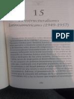 Bustelo, el estructuralismo latinoamericano (CEPAL)