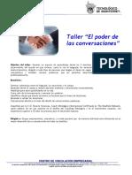 121101 Taller El Poder de Las Conversaciones