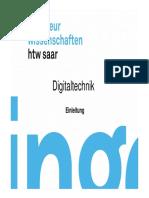 Skript Digitaltechnik ingenieur wissenschaften htw saar