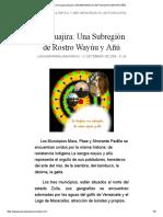 La Guajira Paraujana Wayúu y Añú Bienvenidos