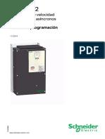 Manual de Programacion Variador Schneider 25 Hp