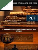 PPT ISBD (Manusia, Sains, Teknologi, Dan Seni)