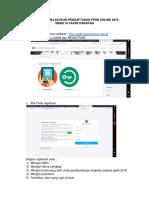 Tata Cara Melakukan Pendaftaran Ppdb Online 2018