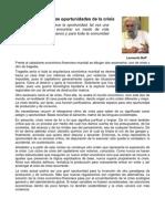 Leonardo Boff - No Desperdiciar Las des de La Crisis