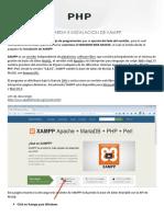 Instalacion Del Servidor Web Apache Con Xampp